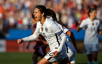 SOCCER: FEB 13 Women's Olympic Qualifying - Mexico v USA