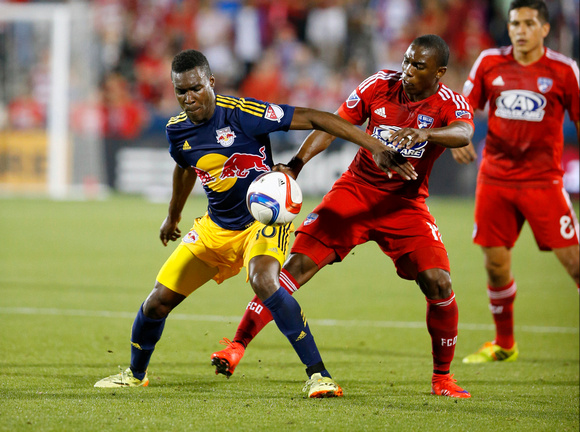 SOCCER: MAY 15 MLS - Redbulls at FC Dallas