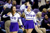 TCU v KU and WVU basketball