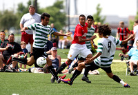 SOCCER: APRIL 1 Manchester United v. Santa Clara Sporting